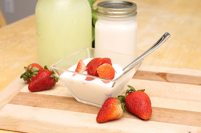 Homemade Pressure Cooker Yogurt