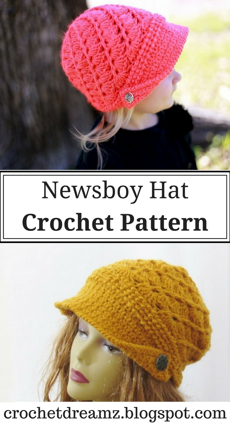 Crochet dreamz audrey newsboy hat crochet pattern baby to woman audrey newsboy hat crochet pattern baby to woman bankloansurffo Image collections
