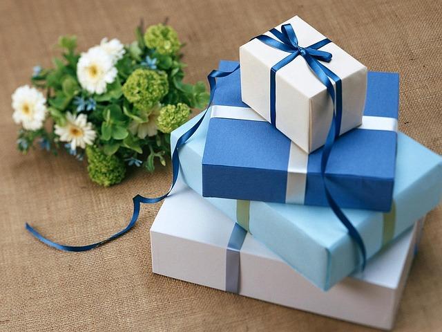 regalos azul