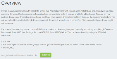 "HOW TO FIX ""Device not Verified by Google"" PLAY STORE STATUS ON CUSTOM ROMS"
