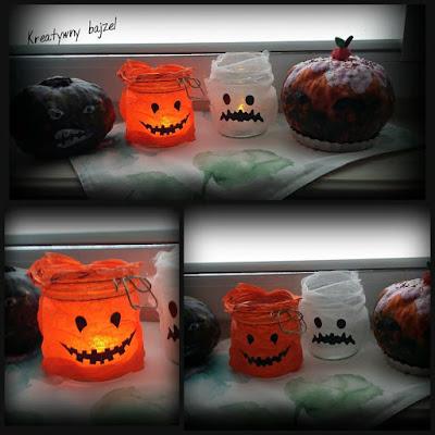 Halloween lampiony diy