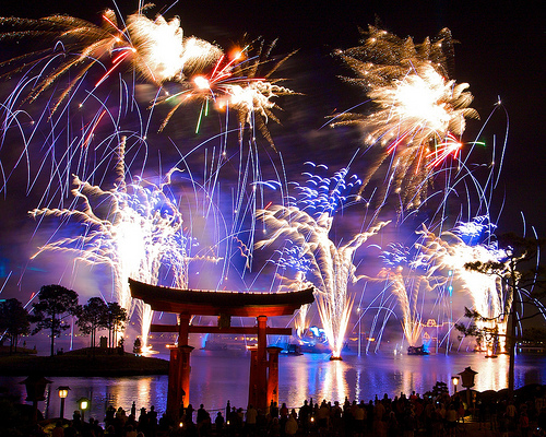 Show IlumiNations do Epcot Orlando