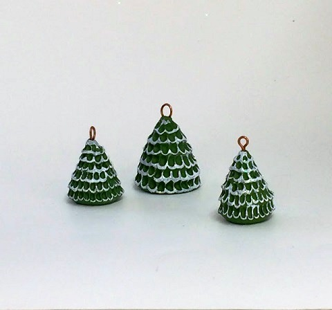 Polymer Clay Christmas Tree.Adorable Polymer Clay Christmas Tree Charms Tutorial The