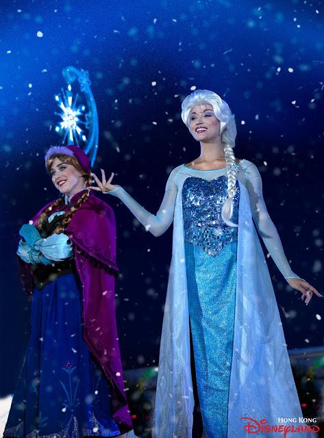 香港迪士尼樂園度假區 公佈 2019財政年度業績, frozen, Meet and greet, Hong Kong Disneyland
