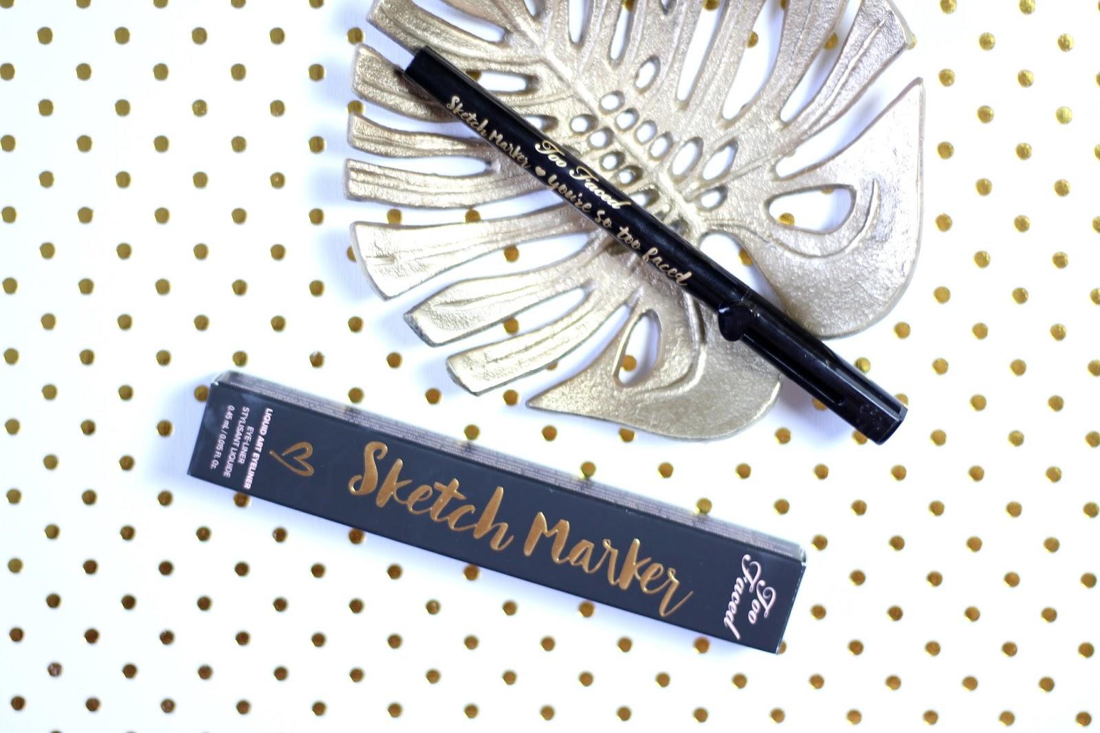Too Faced Sketch Marker black