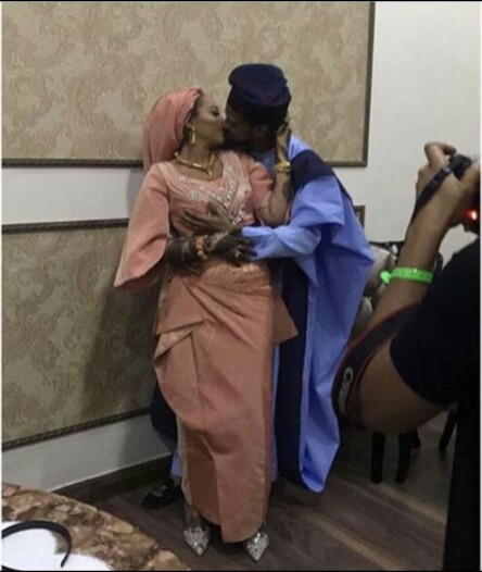 Fateema Ganduje and Idris Ajimobi