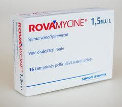 دواء rovamycine   دواء علاج