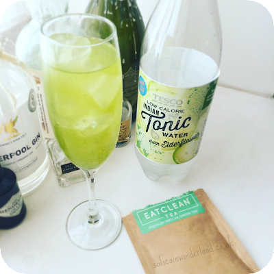 eat clean tea matcha cocktail