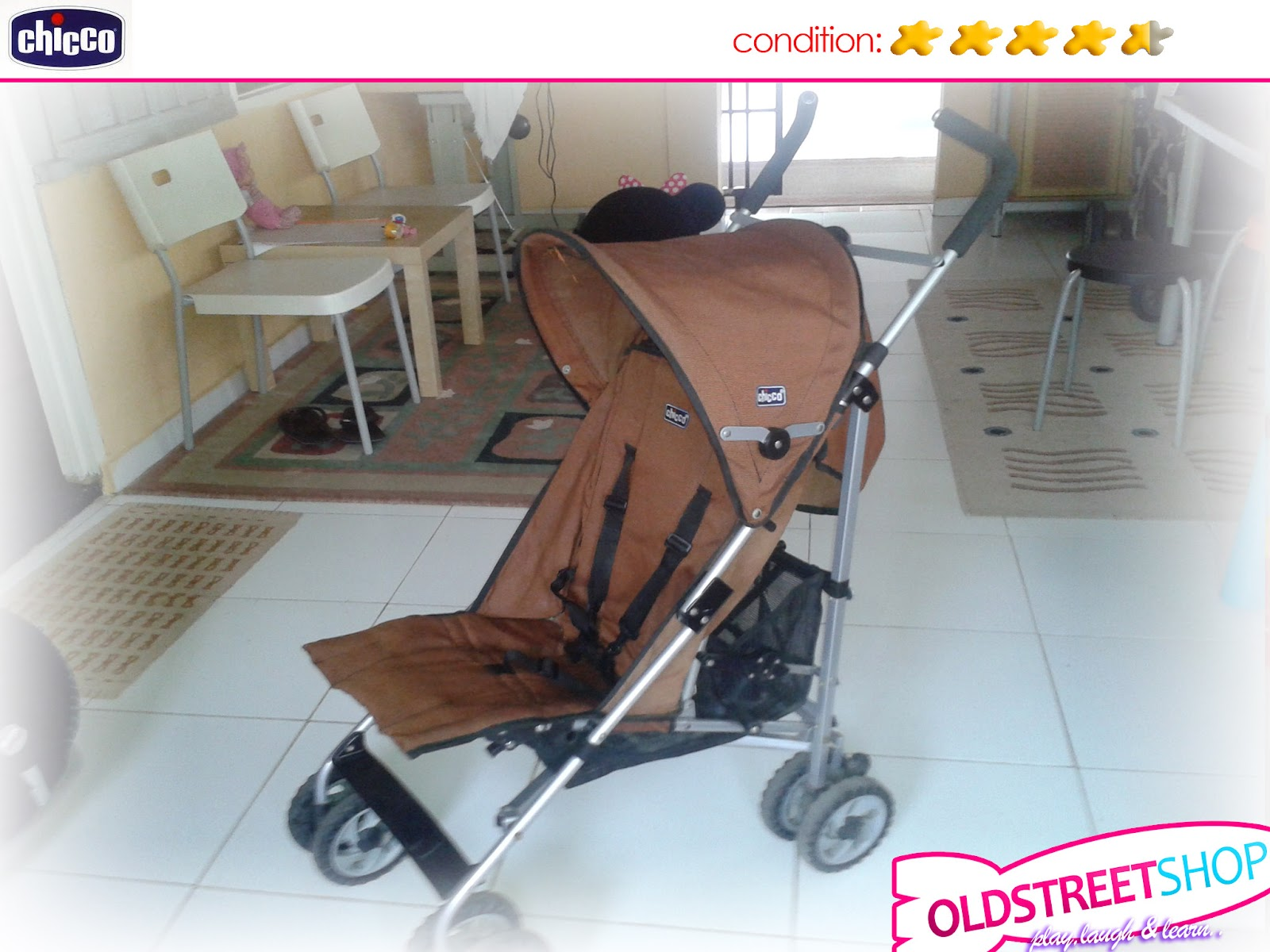 Oldstreetshop Chicco Umbrella Fold Stroller