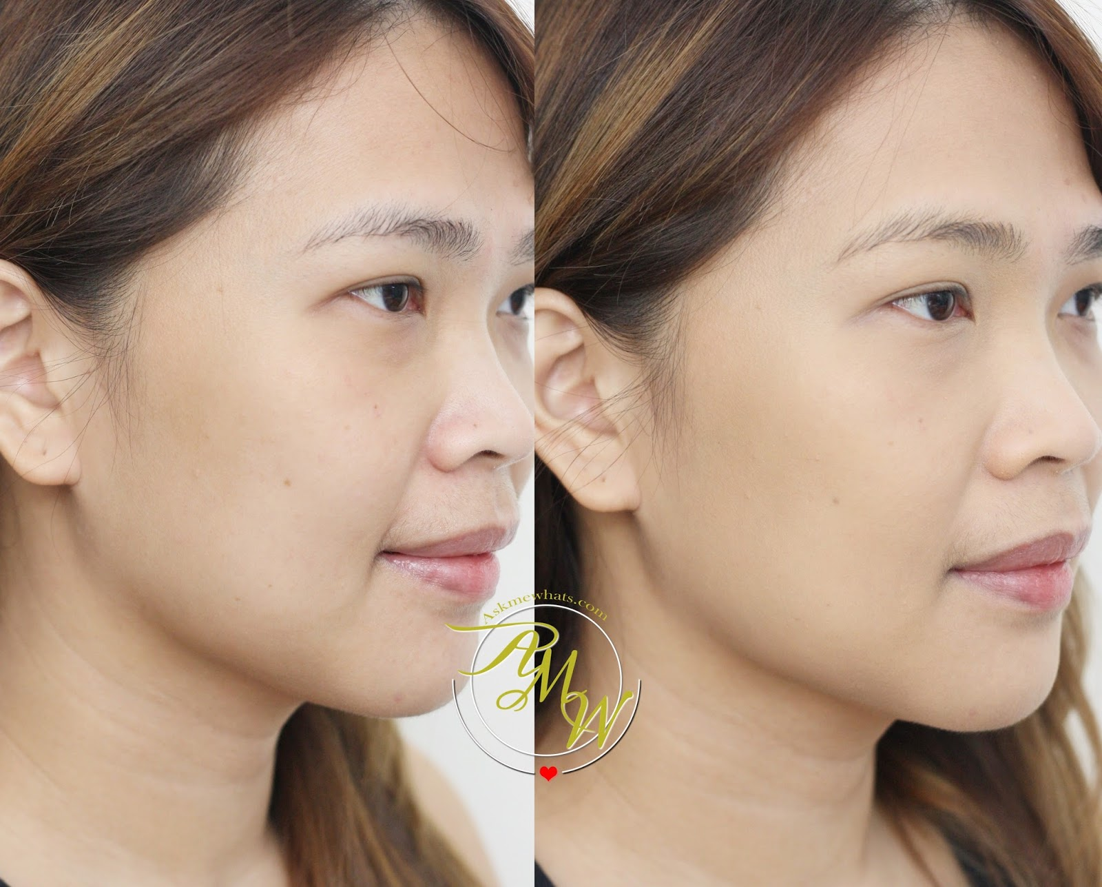 Askmewhats Top Beauty Blogger Philippines Skincare Makeup Review Loreal Paris Infallible Pro Matte Foundation Before And After Photo Of 24hr