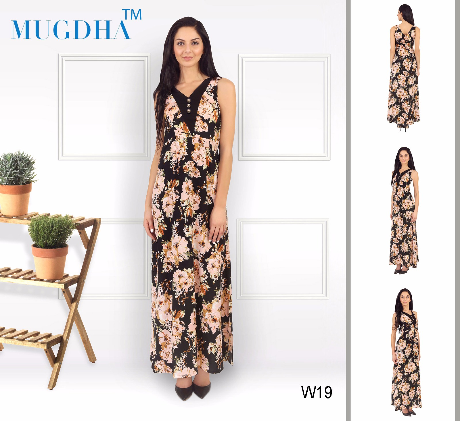 Western Top 3 – Exclusive Fashionable Crepe Western Top