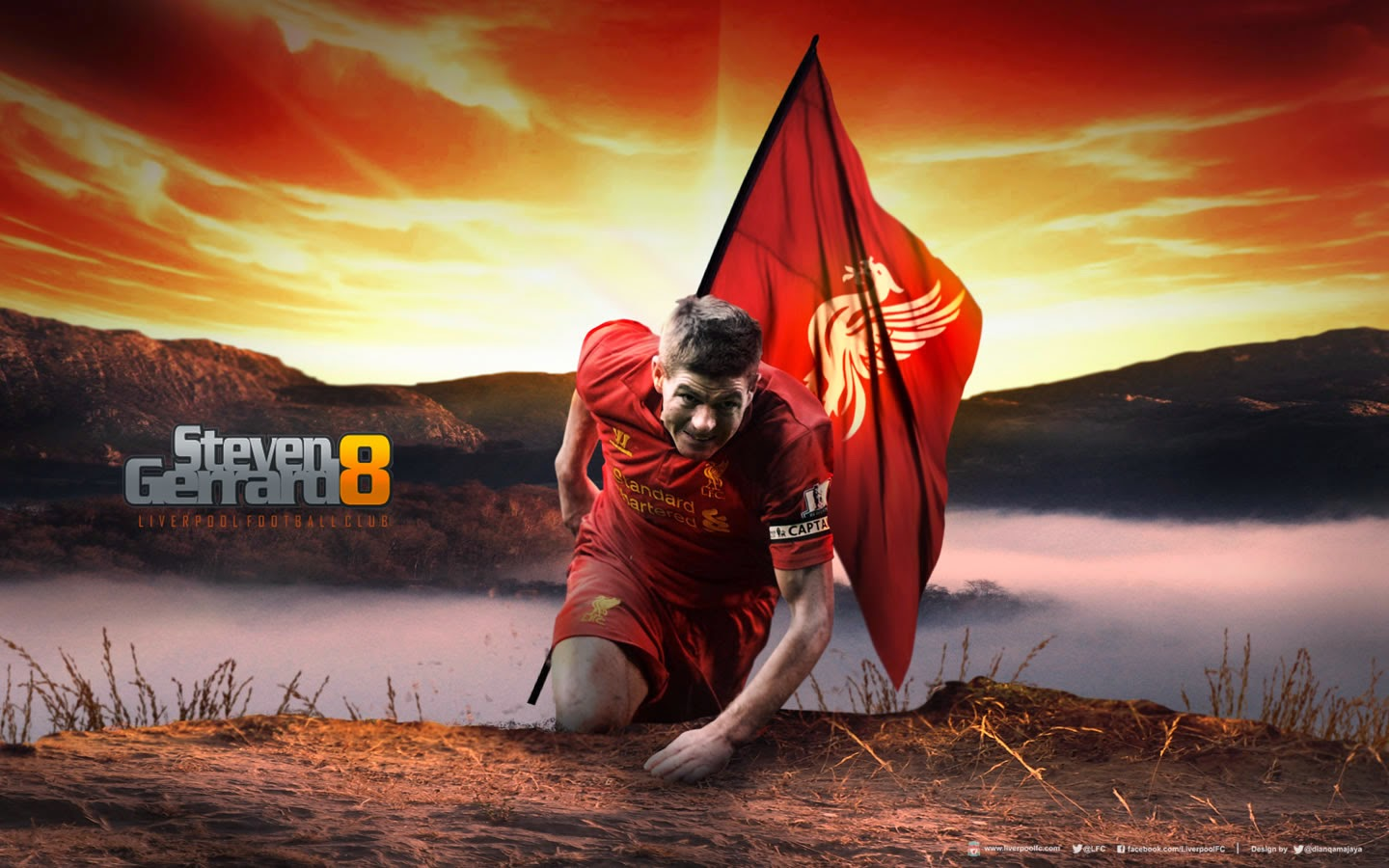 Wallpaper Steven Gerrard 8