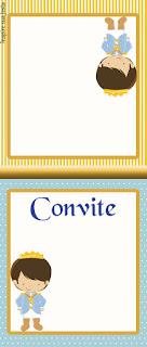 Para hacer invitaciones, tarjetas, marcos de fotos o etiquetas, para imprimir gratis de Príncipe Azul