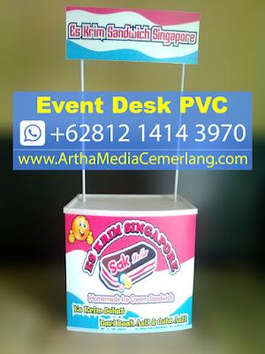 Event Desk Portable es krim singapore, Meja Display Bongkar Pasang es krim singapore, Jual Meja Promosi es krim singapore