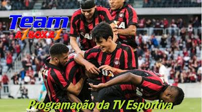 Programação da TV Esportiva ''Quinta'' 16/05/19