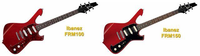Guitarras Eléctricas Ibanez FRM 100 e Ibanez FRM 150