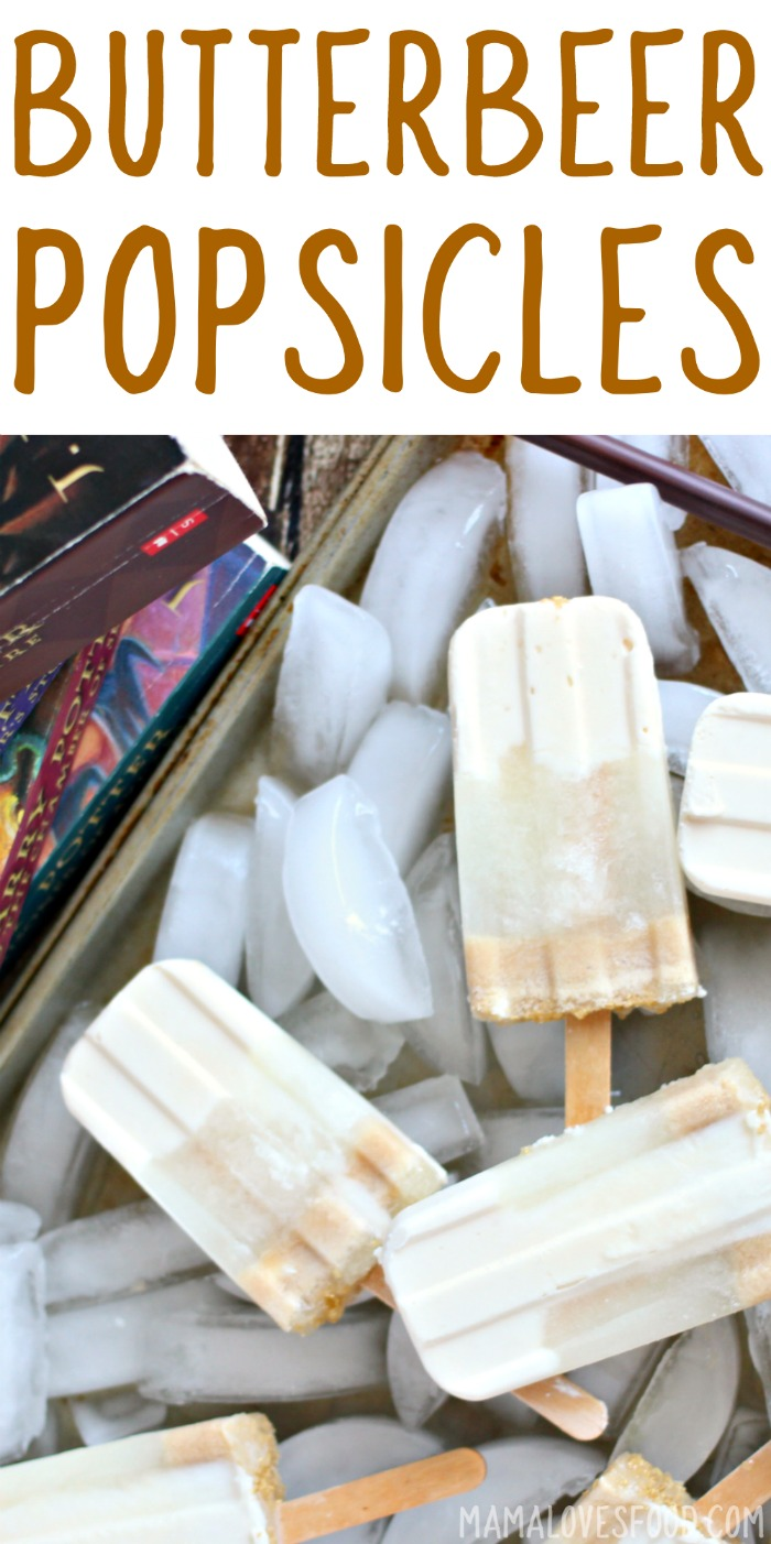 BUTTER BEER POPSICLES RECIPE