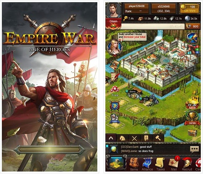 Empire War : Age Of Heroes Android Apk File
