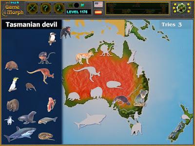Животните на Австралия Пъзел