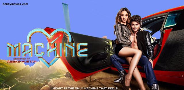 Machine (2017) Hindi Movie Free Download HD 720p