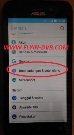 bypass email verifikasi ASUS_X009DA (ZB450KL) Tahap 14
