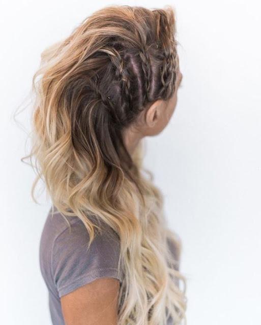 Penteados estão super em alta, ainda mais se for com tranças, pois deixam os seus cabelos ainda mais lindos e super fofos. Aqui temos uma seleção de 4 opções de penteados lindos e fáceis com tranças para você arrasar.