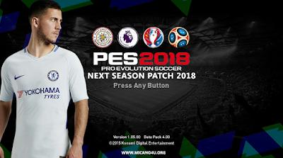 PES 2016 Next Season Patch 2017/2018