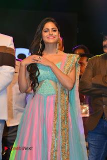 Actress Naina Ganguly Stills in Long Dress at Vangaveeti Audio Launch  0015.JPG