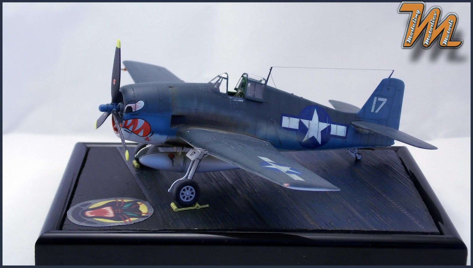 F6F-3, Hellcat, VF27, scale model