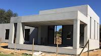 Estructura casa prefabricada hormigón
