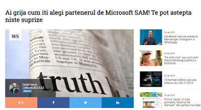 Microsoft, Software Asset Management, Catalin Iancu