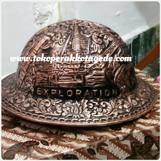copper helmet, copper hard hat,