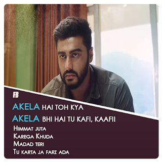 "Akela Song Lyrics (From  ""India's Most Wanted"") by Abhijeet Srivastava"