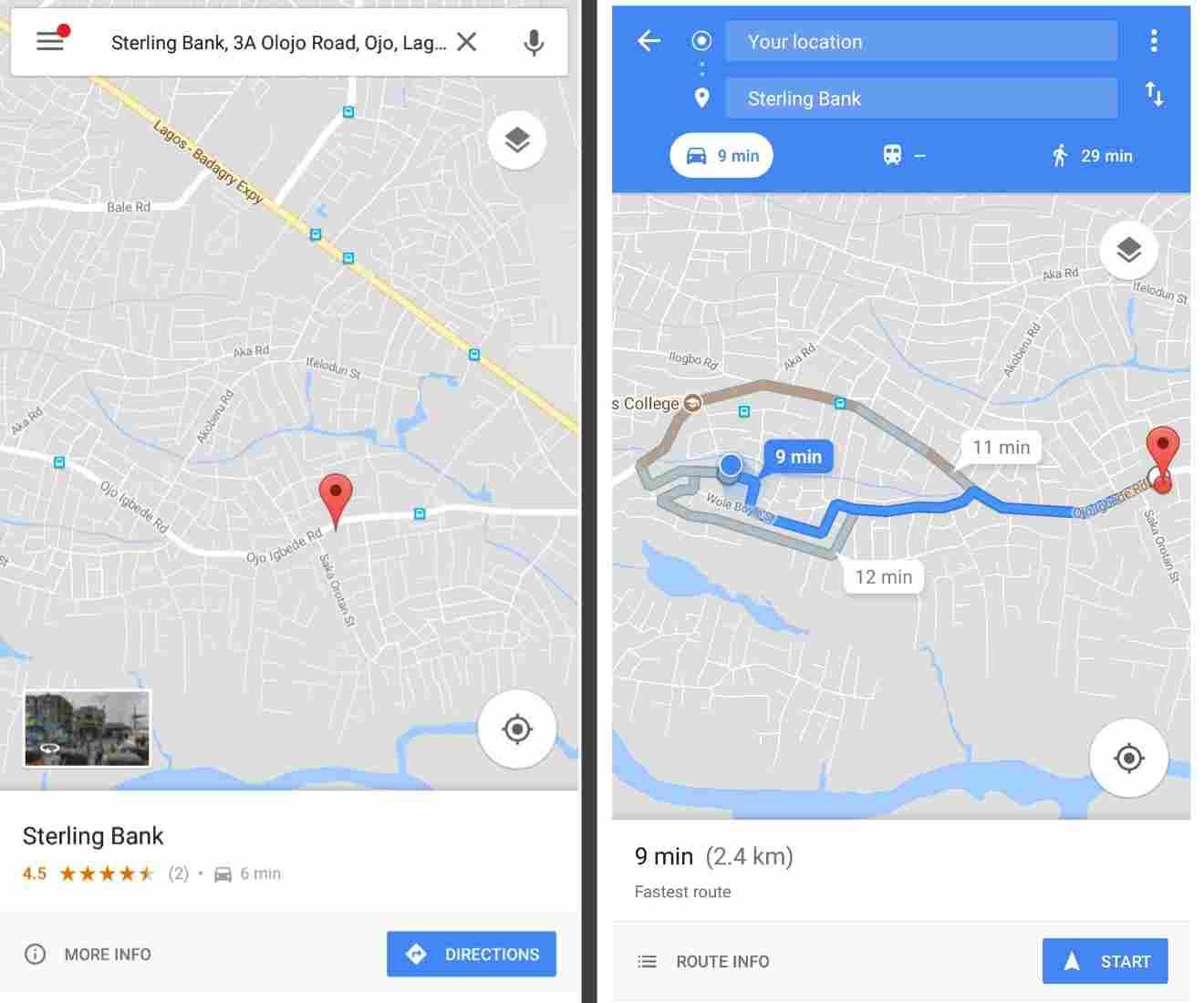 Open WiFi Network(s) Shown On Google Maps