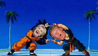 Trump vs Clinton memes