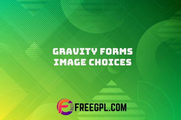 Gravity Forms Image Choices Add-on Nulled Download Free