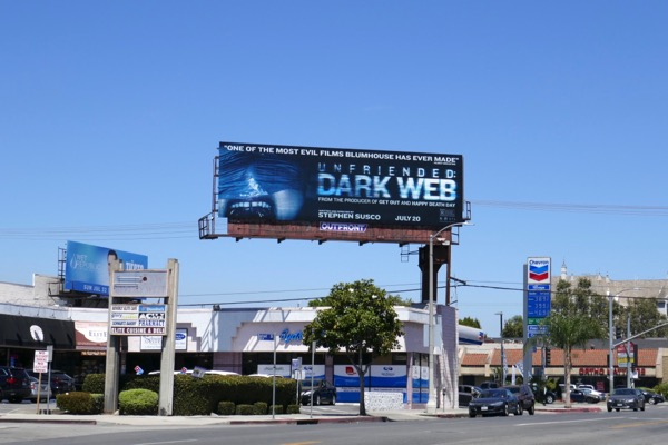 Unfriended Dark Web billboard
