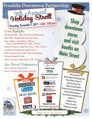 Holiday Stroll - today - 4 PM to 7 PM
