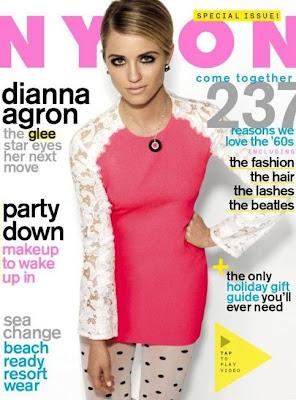 Dianna Agron Covers Nylon Magazine!