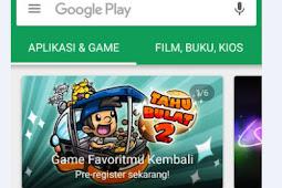 Cara Mematikan Auto Update Google Playstore