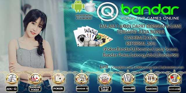 Link baru Situs Judi QBandar Online Terpercaya