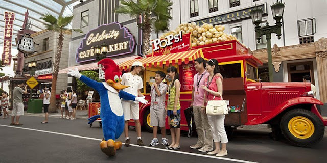 Summer Holiday Ceria Universal Studios Singapore