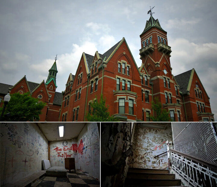 Danvers State Hospital in Massachusetts