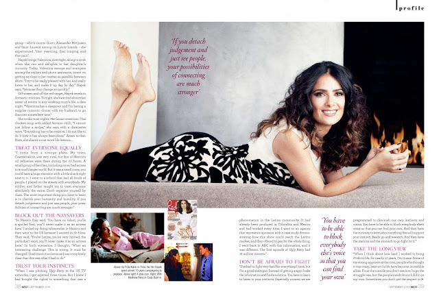 Salma Hayek HQ Photo Shoot for Next Magazine September 2016_2