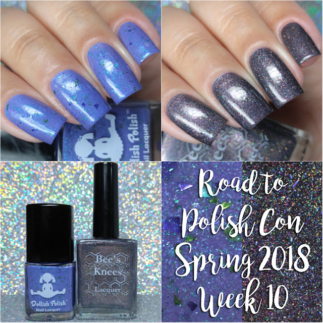 Road to Polish Con Spring 2018 | Week 10 Dollish Polish & Bee's Knees Lacquer