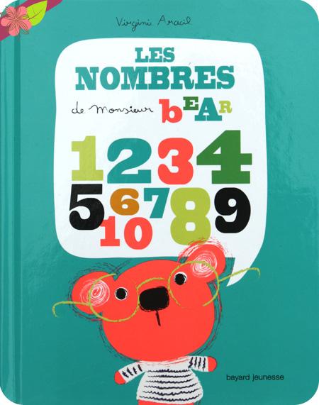 Les nombres de Monsieur Bear de Virginie Aracil