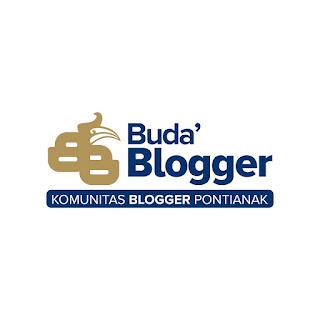 Logo Resmi Buda' Blogger (Komunitas Blogger Pontianak)