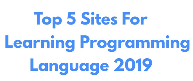Top 5 Sites For Learning Programming Language