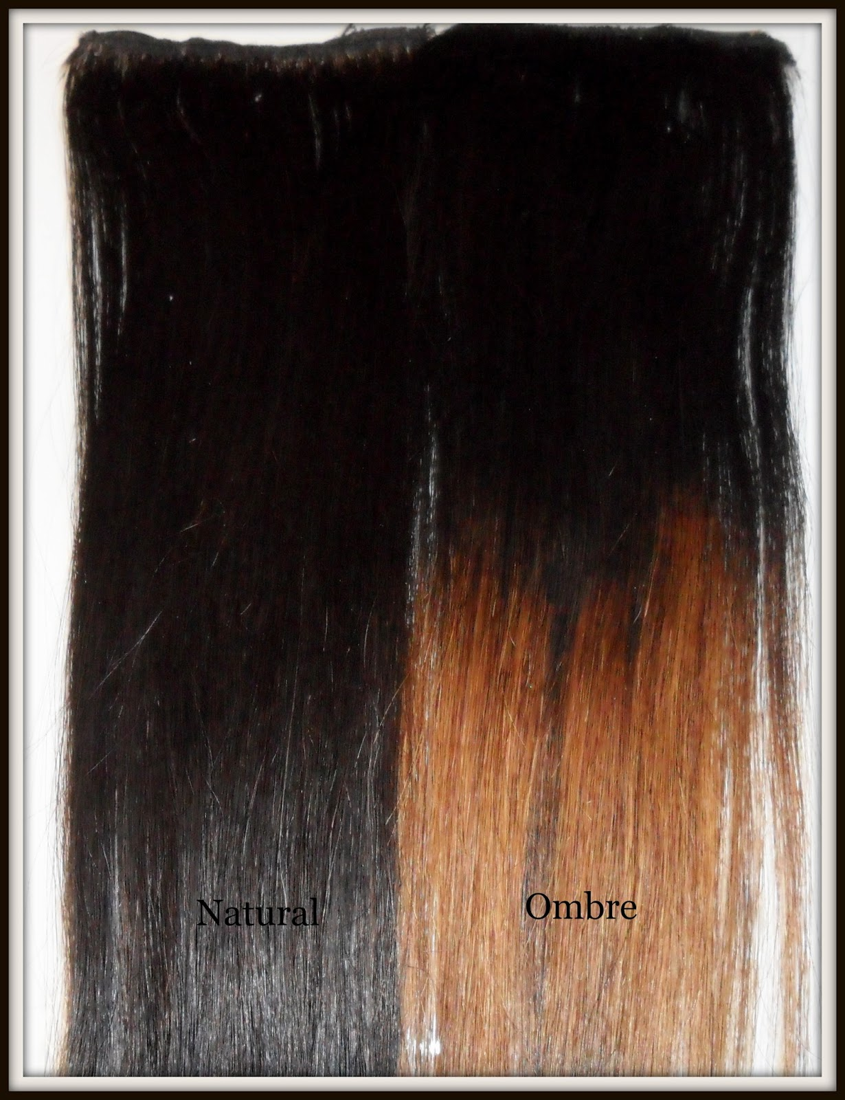 Homemade Ombre Hair Extensions by Pretty Luscious Things