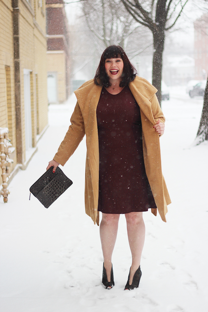 Outerwear Classics Plus Size Camel Coat From Jessica London